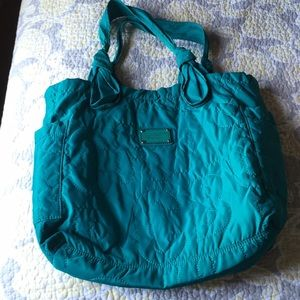 Marc by Marc Jacobs medium teal Tate tote